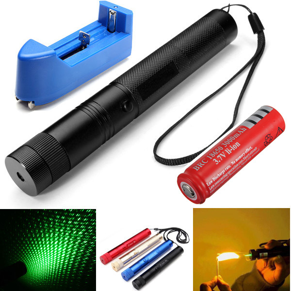 Powerful Military Green Laser Pointer,(7749988)