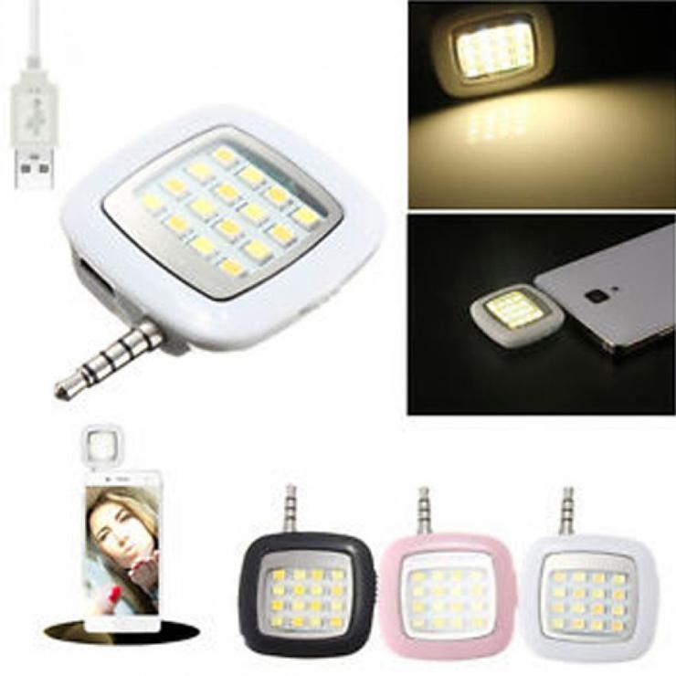 16 LED Selfie Flash Light C : 0001