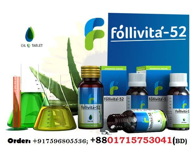 Follivita52 for Hair regrowth and Hair Fall Treatment