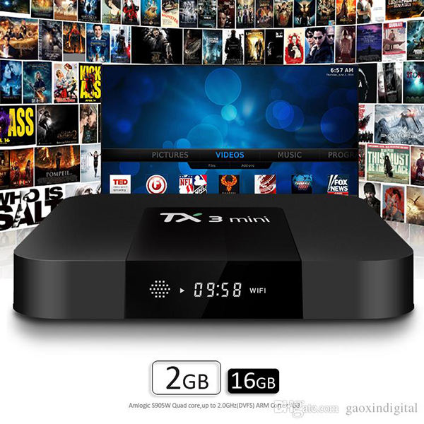 Tanix TX3 2G 16G Android 7.1 Mini TV Box