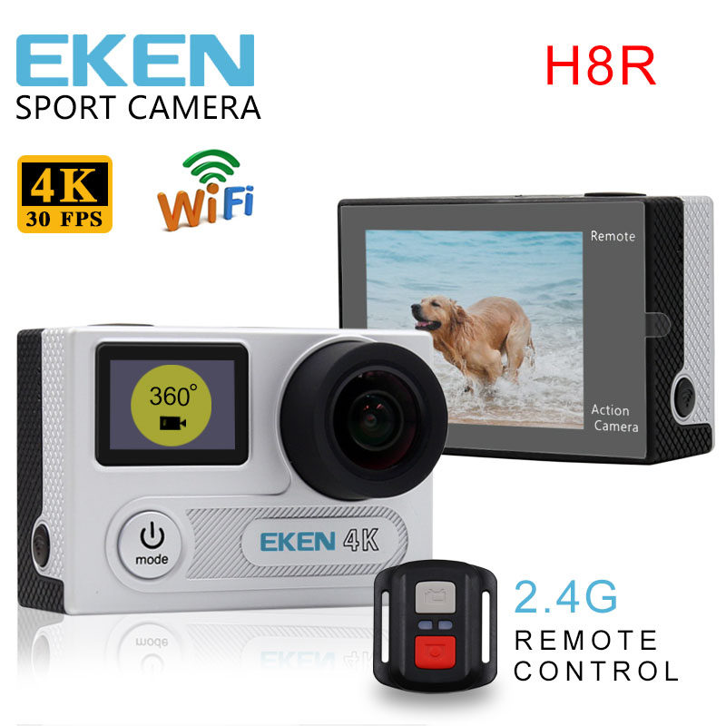 EKEN H8R 4K Action Camera with Remote