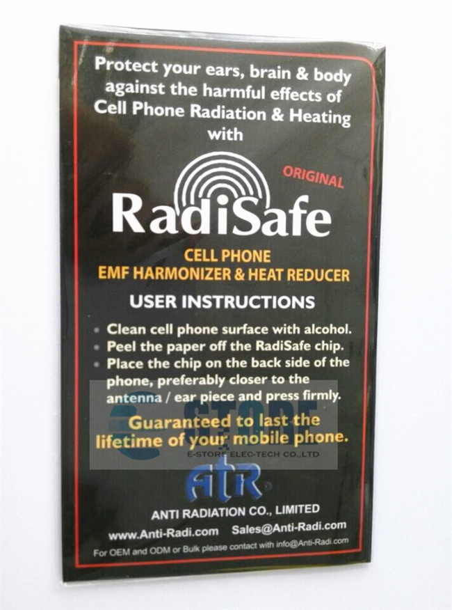 Radisafe Anti Radiation Sticker,(8814911.)