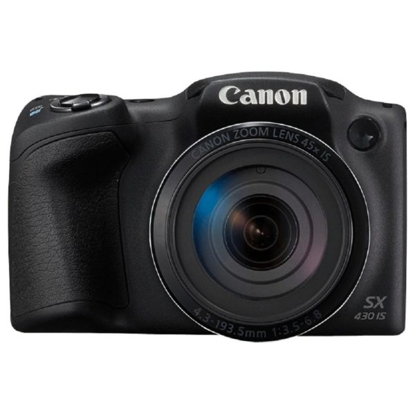 Canon PowerShot SX430 45x Zoom Travel Friendly WiFi Camera