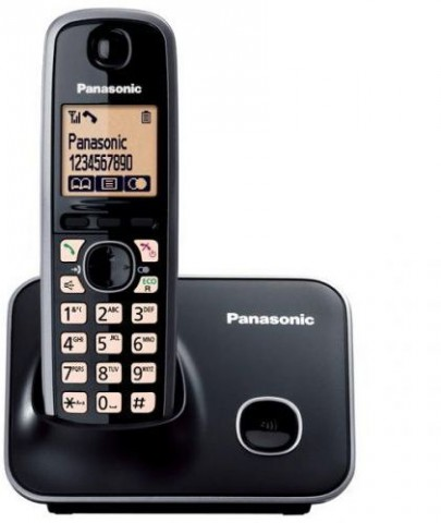 Panasonic KXTG3712 Cordless LCD Screen Telephone