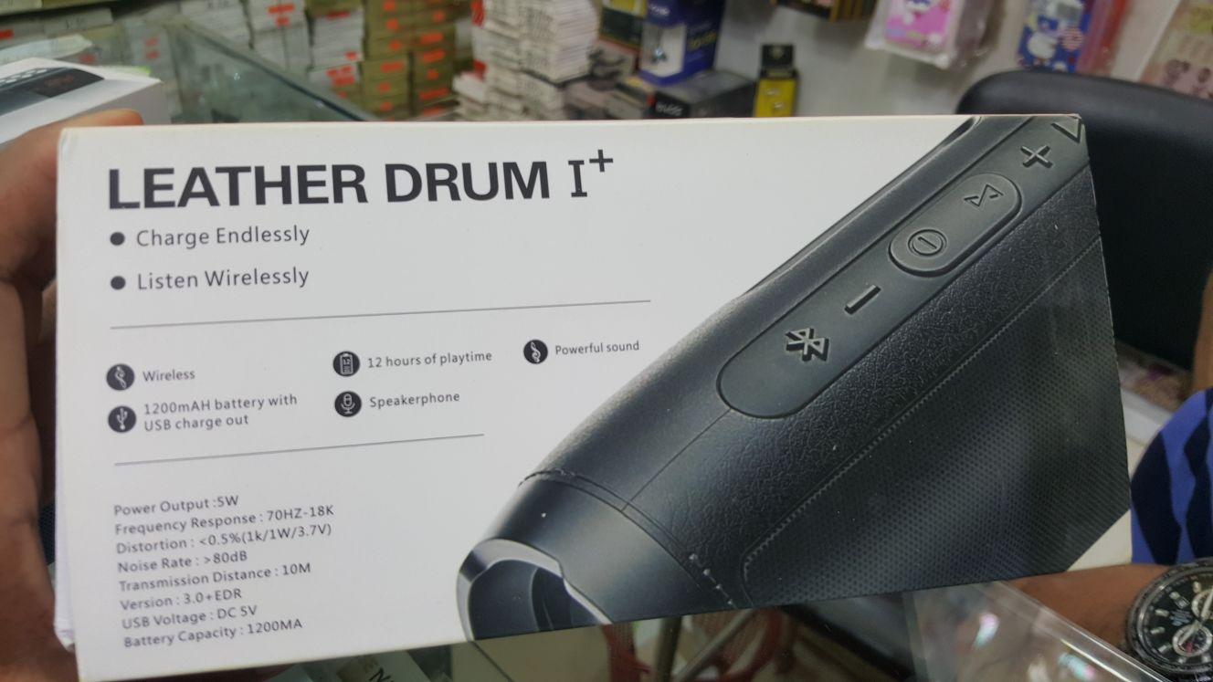 Leather Drum I Portable Speaker,(99139911)