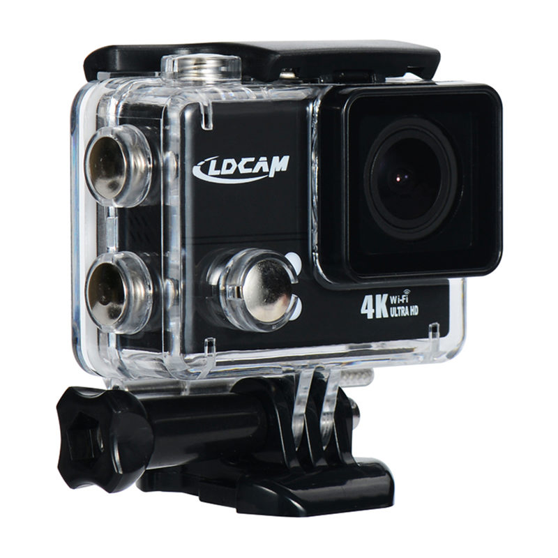 LDCAM PRO4 PLUS WiFi 4K 30fps Ultra HD Action Camera