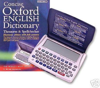 Oxford Dictionary Seiko ER6100,(22105155.)