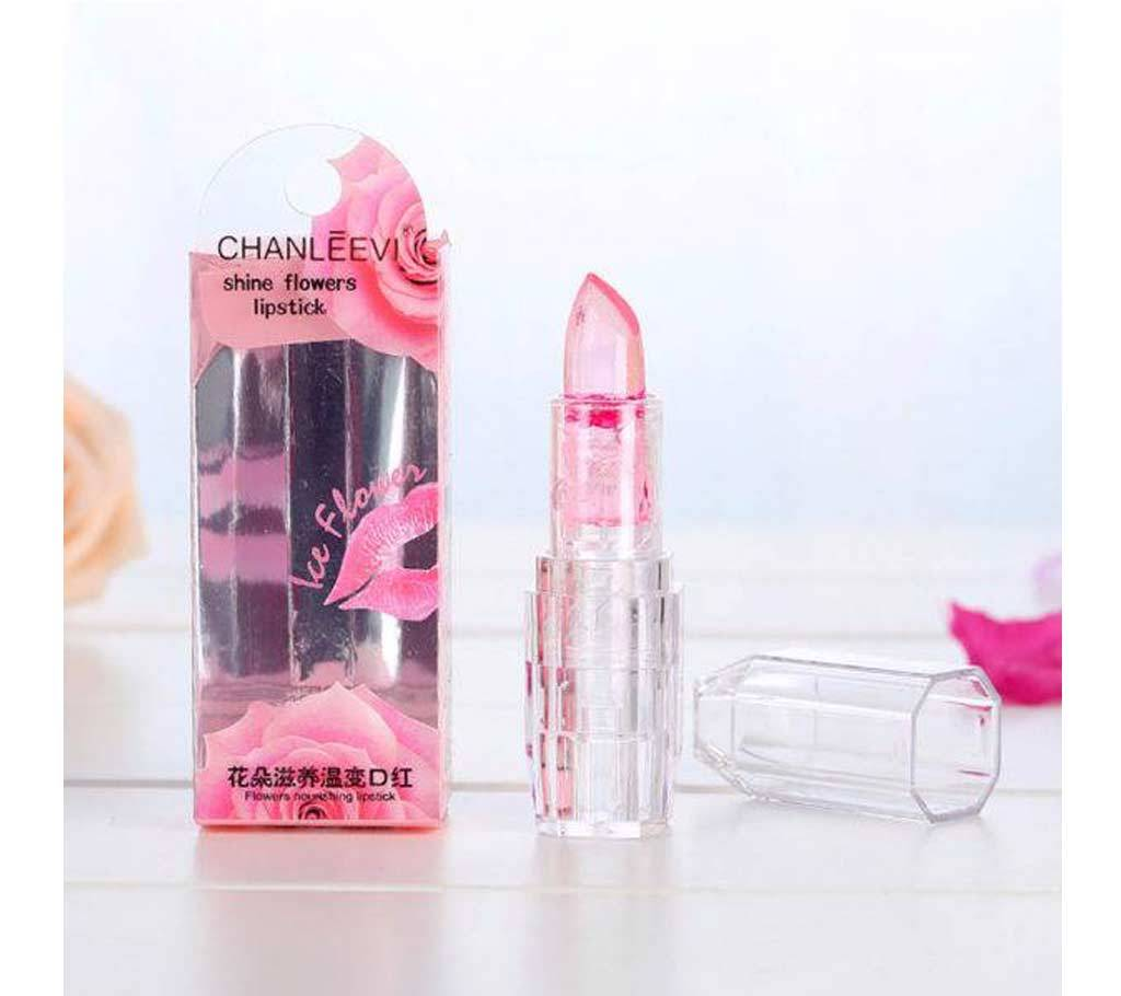 Chanleevi shine flower lipstick,(1122133.)