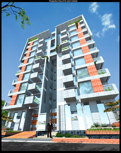 2910 sft south face Bashundhara I Block 5800 tk per sft