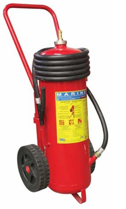 Fire Extinguisher 25 Kg Dry Chemical Powder with Trolley