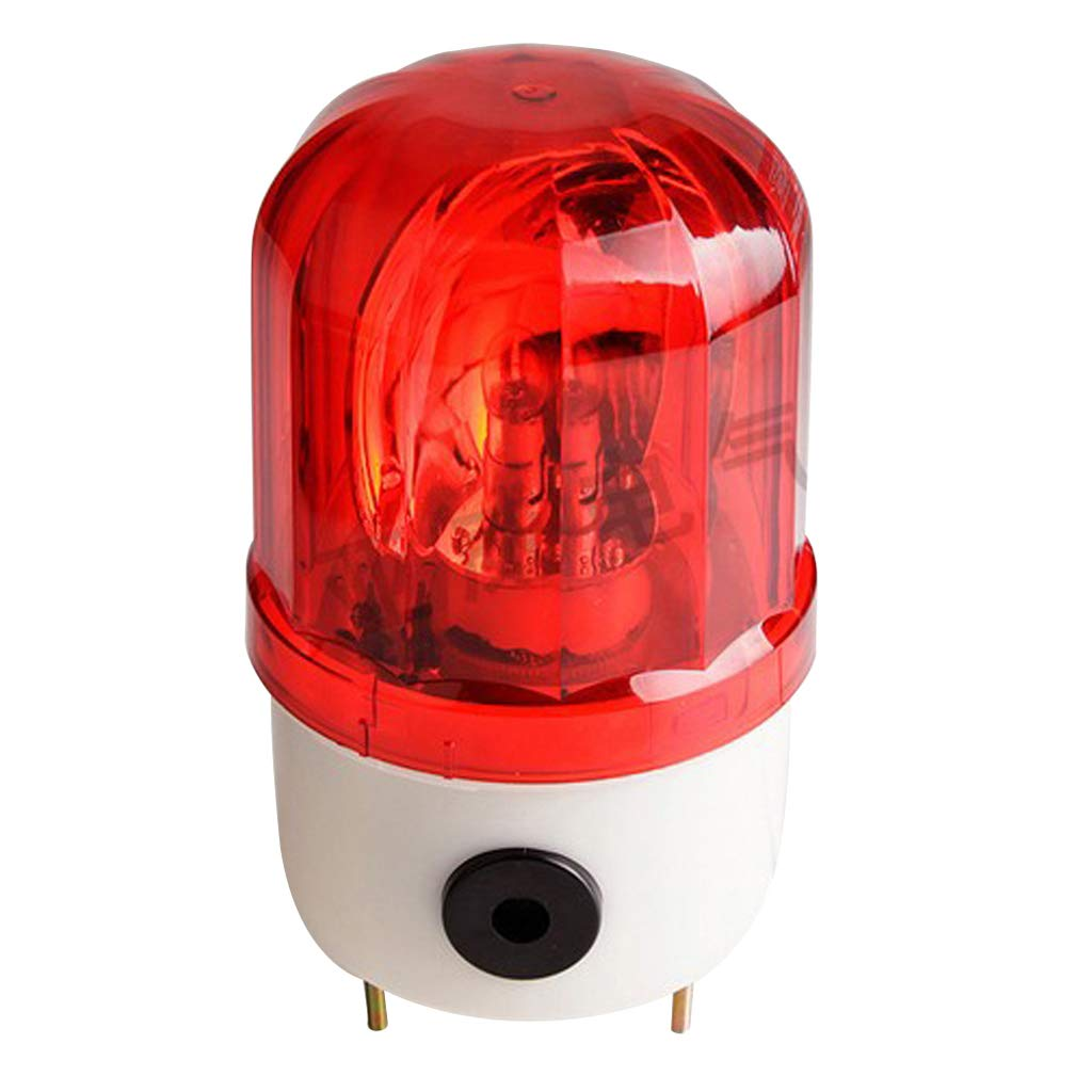 Rotary Industrial Red Flash Light Alerm