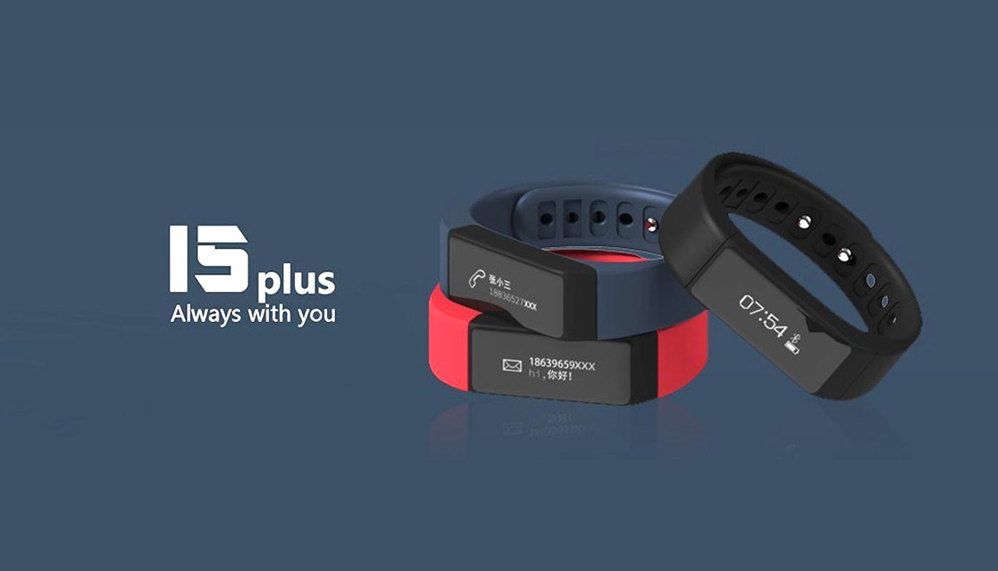 I5 plus Waterproof Bluetooth 4.0 Bracelet Sports Tracking Smart Watch