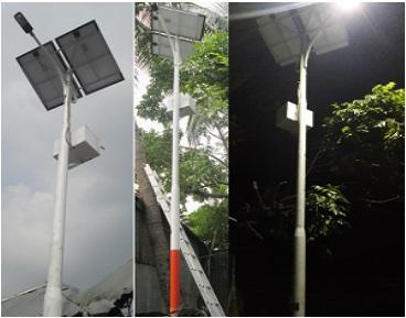 10 watt Solar Street Light