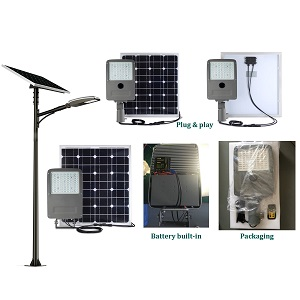 20 watt All in Two Solar Street Light
