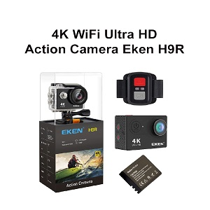 Wifi Camera EKEN H9R 4K Action Ultra HD Waterproof Original