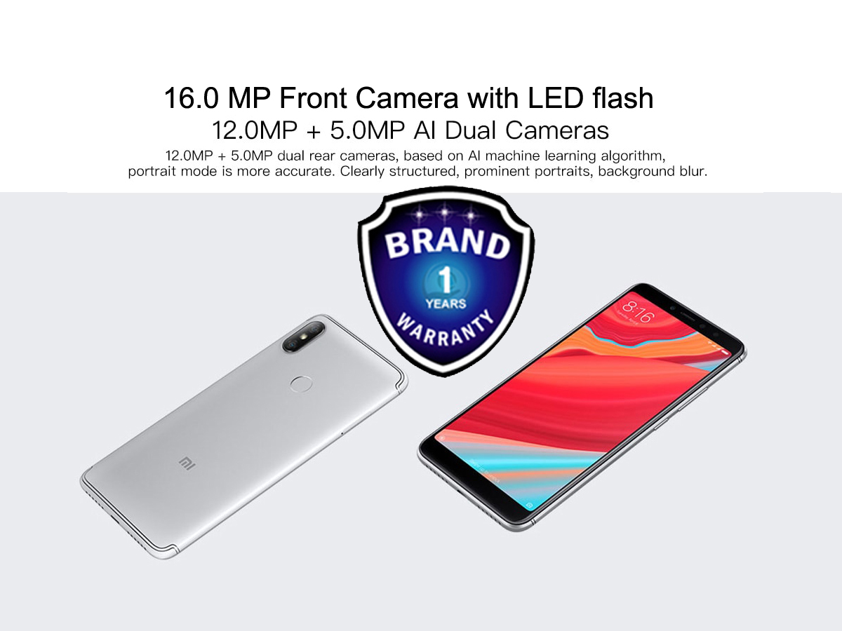 Xiaomi Redmi S2 Global Official Warranty Bangladesh