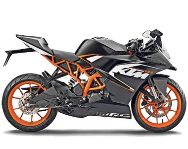 KTM RC 125 Dual Channel ABS Edition