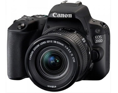 Canon EOS 200D 24.2 MP DSLR Camera