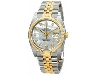 Rolex Oyster Perpetual 18K Yellow Gold Mens Watch