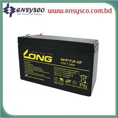 12v 7.2Ah Long Brand Vietnam Made SMF Battery