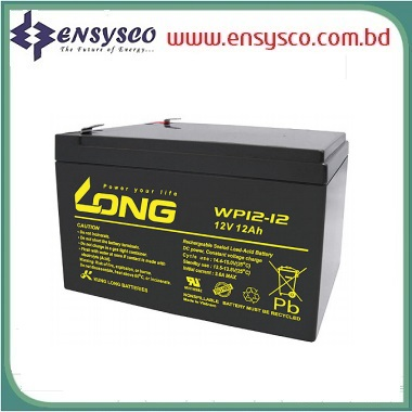 12Ah Long Battery Price in BD | 12Ah Long Battery