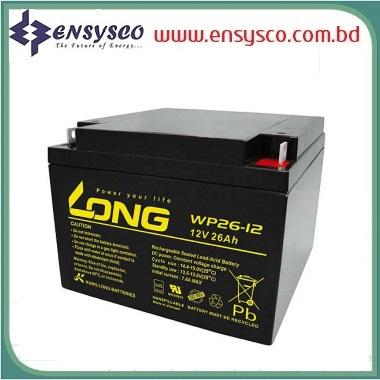 26Ah Long Battery Price in BD | 26Ah Long Battery