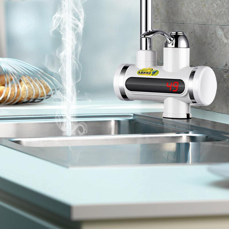 Instant Hot Water Tap with Digital Meter