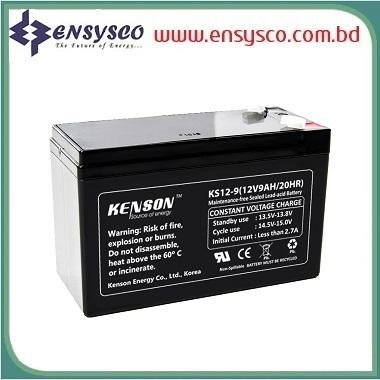 9 Ah Kenson Korea Brand SMF Battery