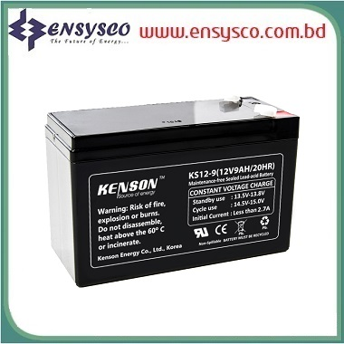 12 Ah Kenson Korea Brand SMF Battery