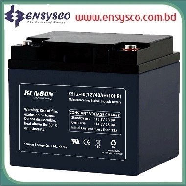 40 Ah Kenson Korea Brand SMF Battery