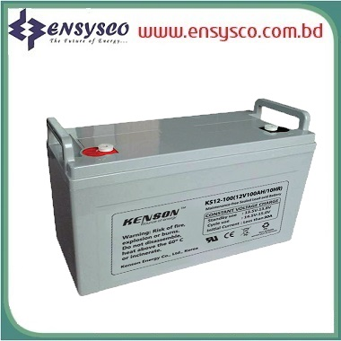 100 Ah Kenson Korea Brand SMF Battery
