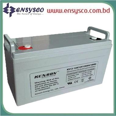 120 Ah Kenson Korea Brand SMF Battery