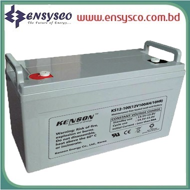 150 Ah Kenson Korea Brand SMF Battery