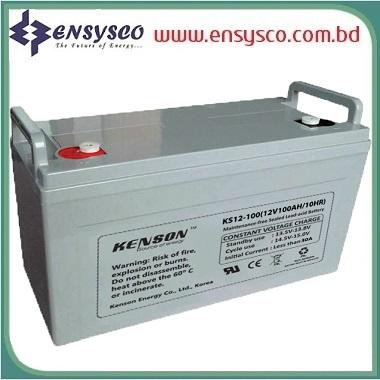 200 Ah Kenson Korea Brand SMF Battery