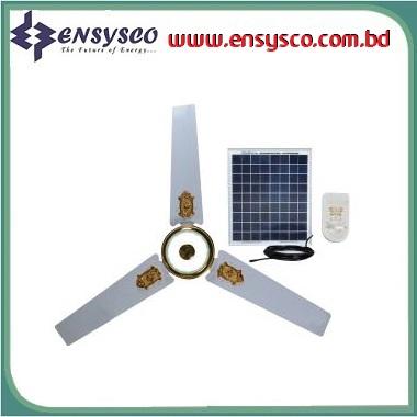 Ensysco Solar DC Ceiling Fan