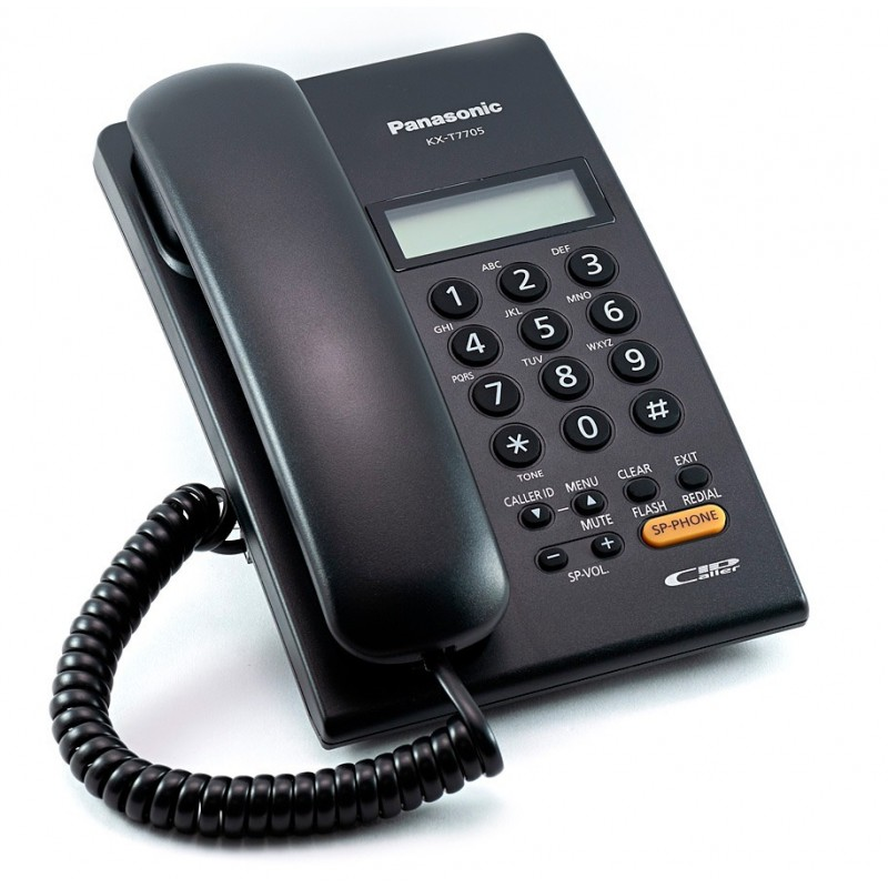 Panasonic KX T7705 LCD Display Corded Home Telephone