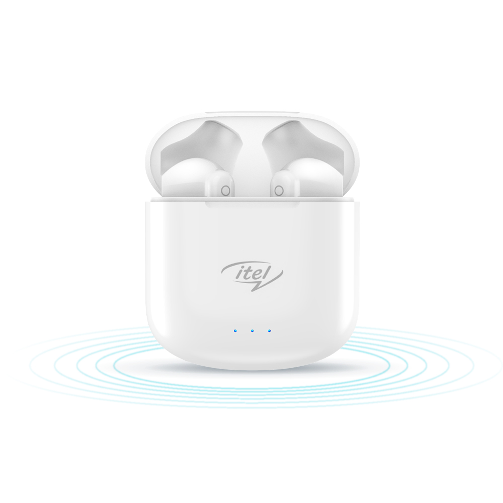 iTel True wireless Half in ear Earbuds