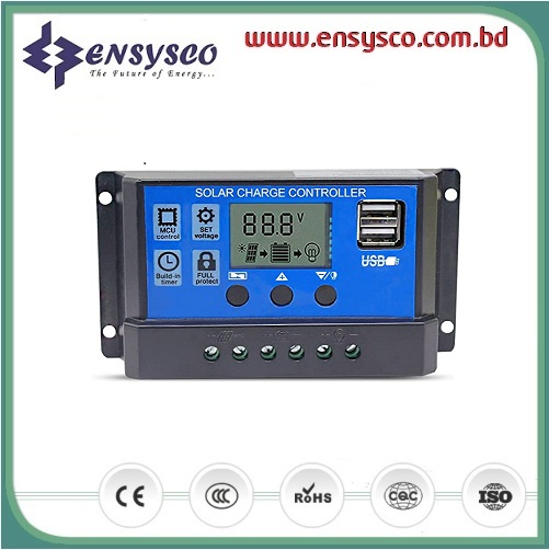 DOKIO 10A Intelligent Solar Charge Controller