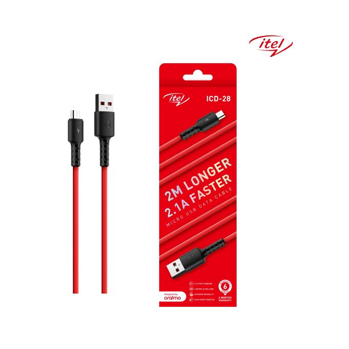 iTel Fast Charging cable ICD 28